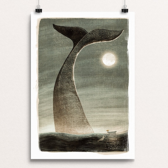 Whale Tail - Signed Print from Cruel & Curious