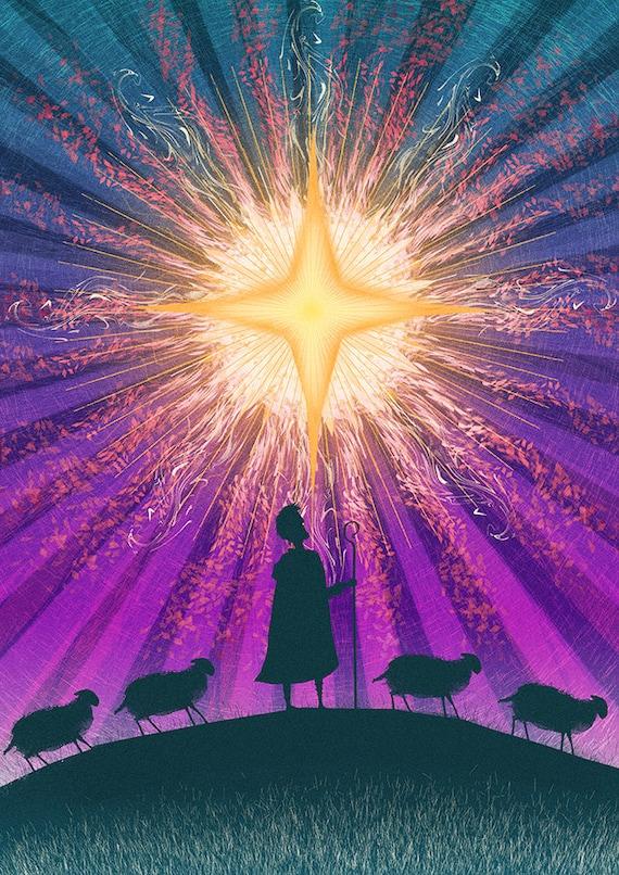The Star! | Shepherds - 72 dpi Digital File