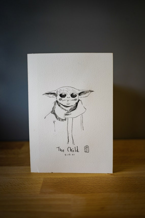 The Child Original Drawing 4th May 2021