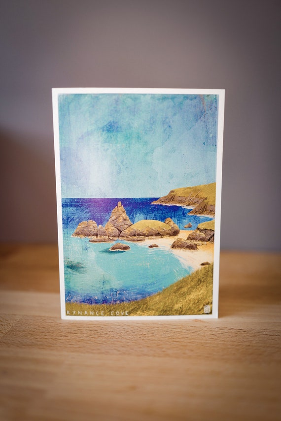 Cornish Coasts - Kynance Cove - Greetings Card