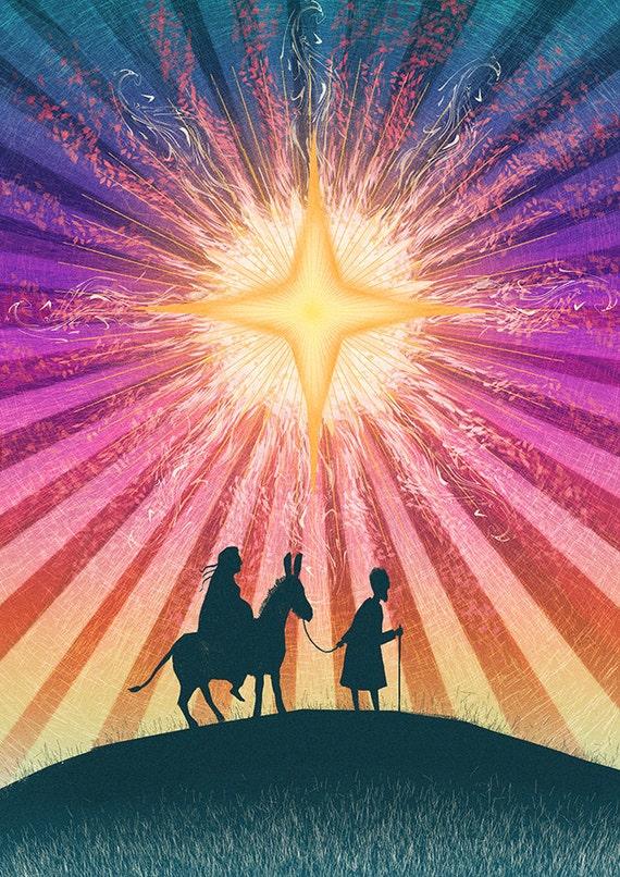 The Star! | Mary & Joseph - 72 dpi Digital File