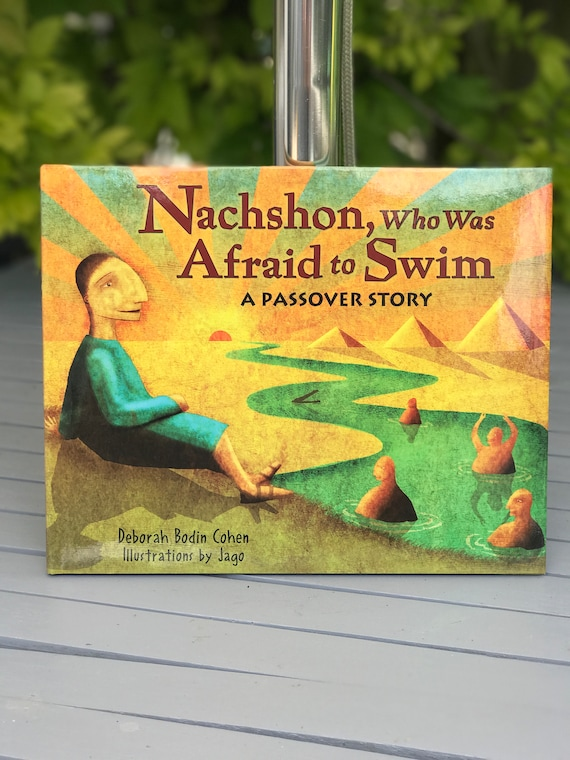 Signed book - Nachshon Who Was Afraid To Swim - Deborah Cohen (Hardback)