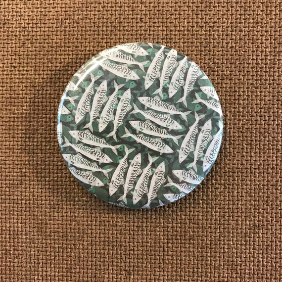 Mackerel Pattern - Fridge Magnet
