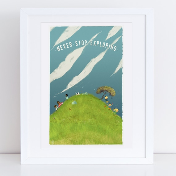 Loved - The Hill - Signed print