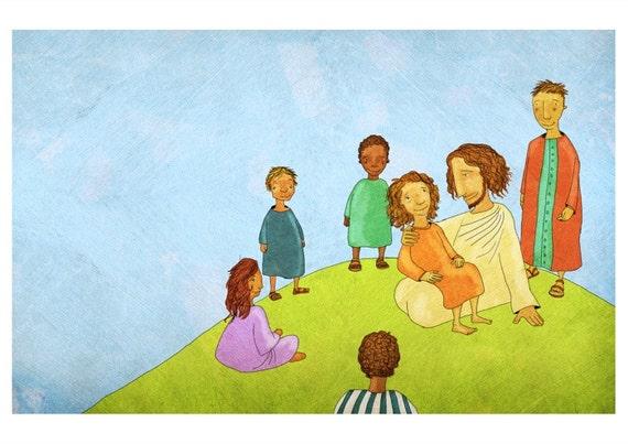 The Jesus Storybook Bible - 72 dpi Digital File (Page 224 - 225)