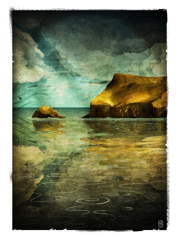Pentire - Signed Print from The Cruel and Curious Sea II exhibition