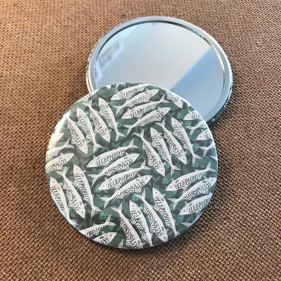 Mackerel Pattern - Pocket Mirror