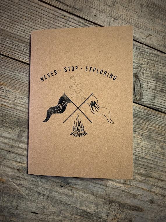 Campfire Flags - A6 Notebook / Sketchbook / Journal