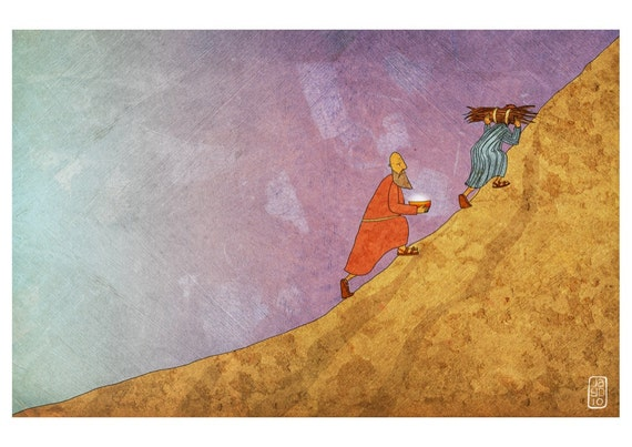 The Jesus Storybook Bible - Signed Print (Page 62 -63)