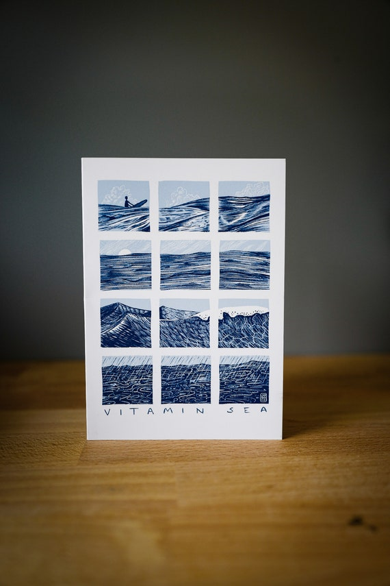 Vitamin Sea -  Greetings Card