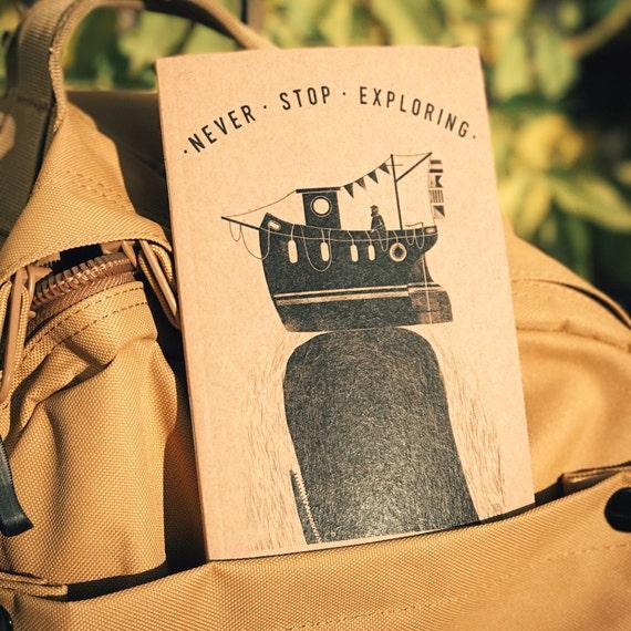 Whale - A6 Notebook / Sketchbook / Journal