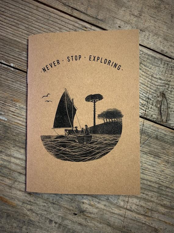Wildcat Island - A6 Notebook / Sketchbook / Journal