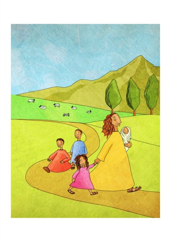The Jesus Storybook Bible - 72 dpi Digital File (Page 75)