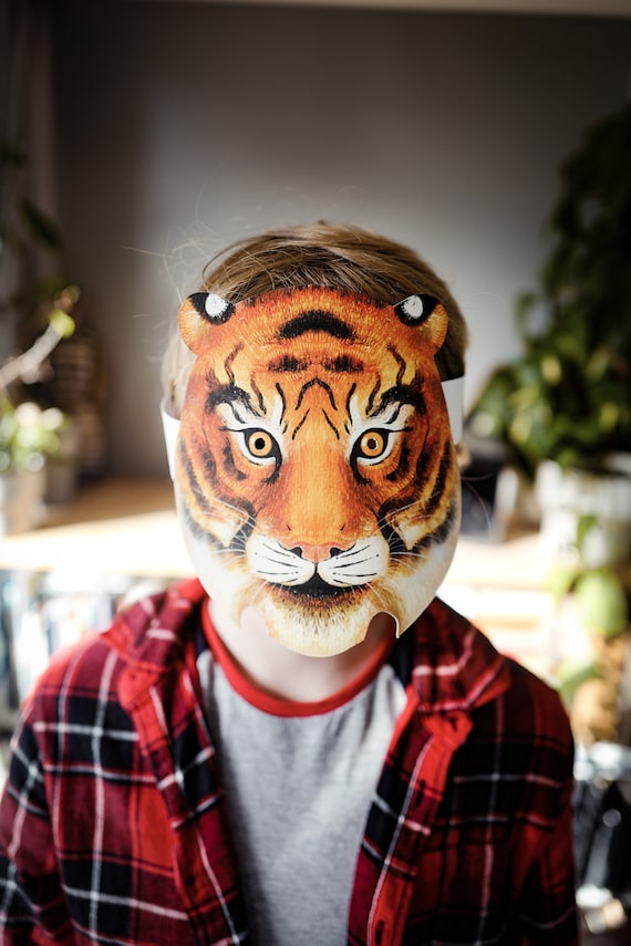 Tiger Mask - Print and cut out DIY mask