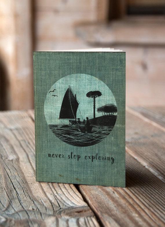 A6 Wildcat Island - Notebook / Sketchbook / Journal