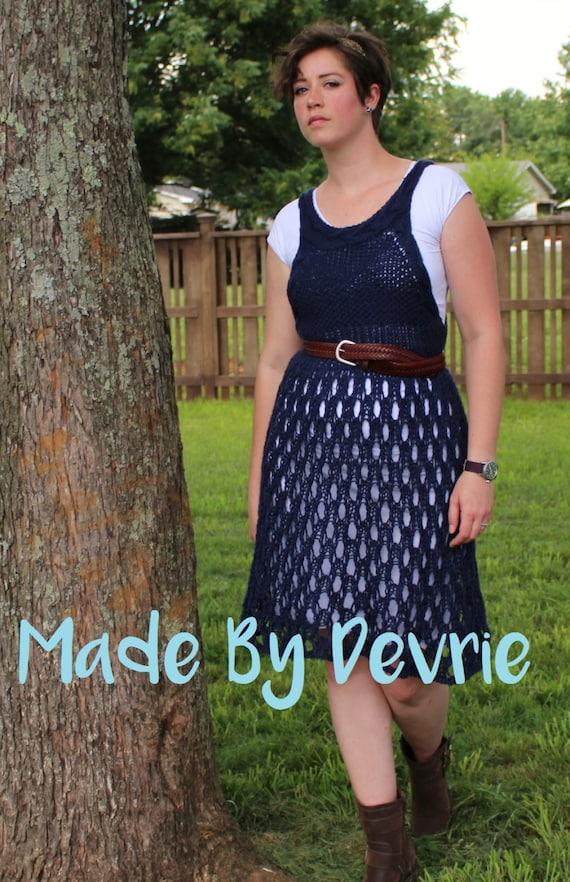 Digital Download Knit Lace Dress Knit Dress Knitting Etsy