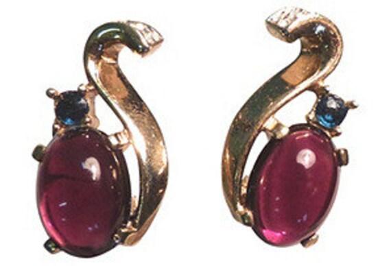 Trifari Jelly Belly Earrings - image 1