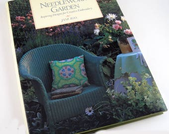 The Needlework Garden Inspiring Designs for Creative Embroidery by Jane Iles - needlepoint patterns - embroidery patterns - needlework guide