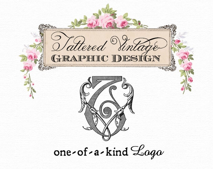 One-of-a-Kind MONOGRAM Logo Custom OOAK Logo Design