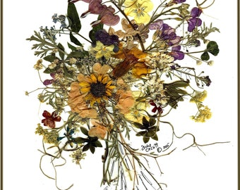 So very Victorian | mother's day | pressed flowers | backyard | print | elegant | VMD