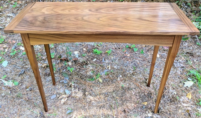 Console Table Narrow Console Table Wood Console Table | Etsy