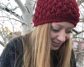 Winter hat// beanie// crochet hat//womens hat// textured hat