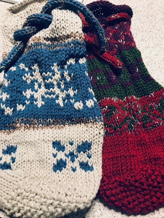 Holiday Gift Bags, Sacks, Wine Bottle Bags