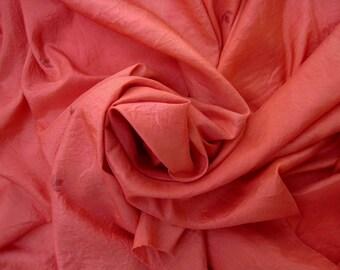Indian Vintage Sari Silk Recyclingsilk Indian Silk4YARD 23 INCH NR. 17