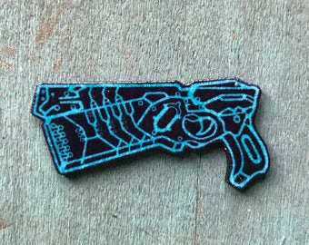 Psycho Pass Dominator Lapel Pin Pinback Button