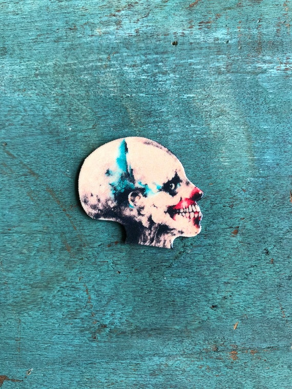 Handmade Buttons 1 inch Pin set of 5 Pin Badges Scary Stories To Tell In The Dark