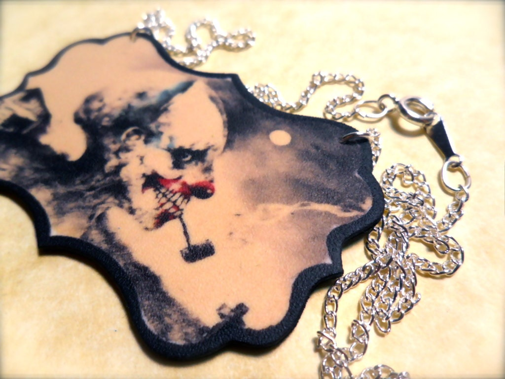 Scary Stories To Tell In The Dark Necklace Etsy