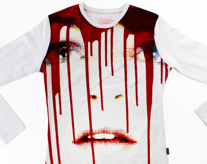 Candy/Dripp Medium Ladies Baseball Shirt 1/1 BD109