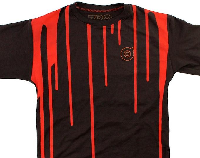 Dripp (Brown/Orange) Youth Large T-Shirt BJ102