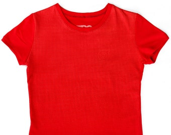 Red Trans Ladies Large T-Shirt 1/1 BH006