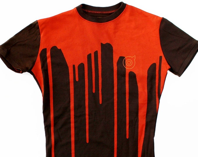 Dripp Ladies Orange/Brown T-Shirts