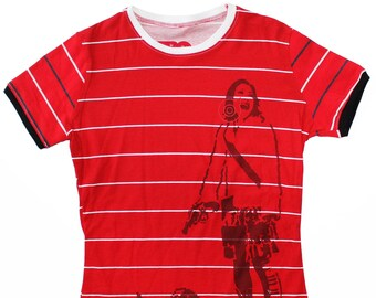 Aibonoid Medium Ladies Ringer Shirt 1/1 BE022