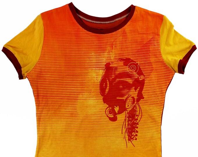 Mind Machine Mary Ladies Large Ringer Shirt 1/1 BE033
