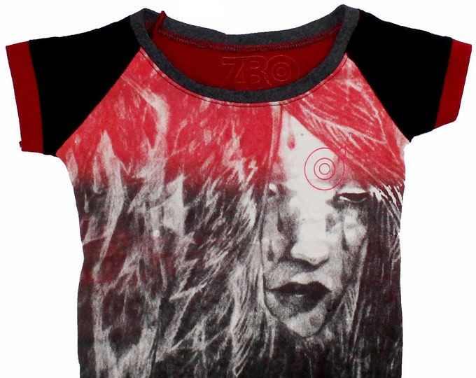 Starchild Youth Small Raglan Shirt BJ033
