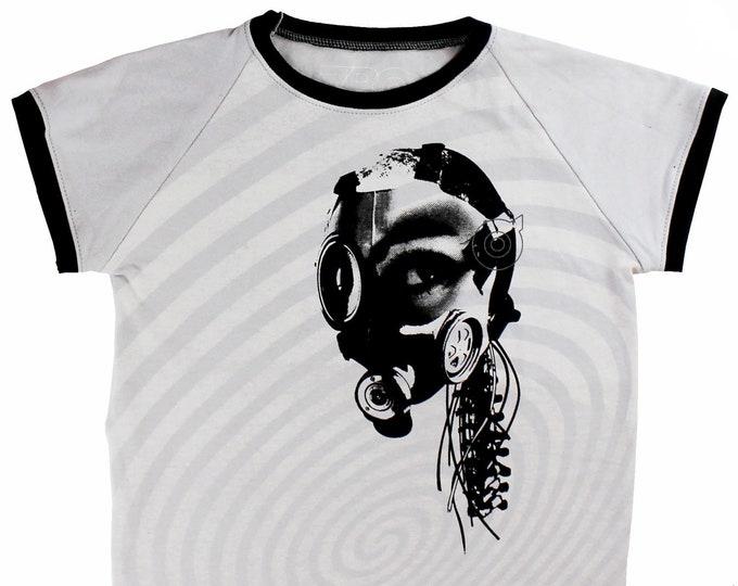 Mind Machine Mary Youth Medium Raglan Shirt BJ005