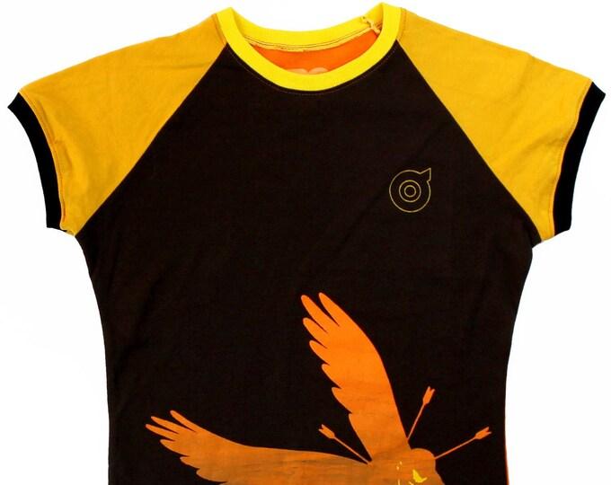 1984 Ladies Small Raglan Shirt BD011