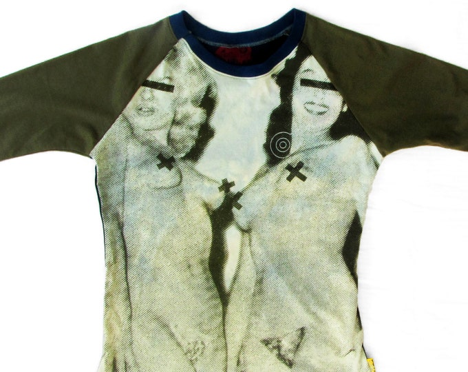 Blondes and Brunettes Ladies Large Baseball Shirt BG012