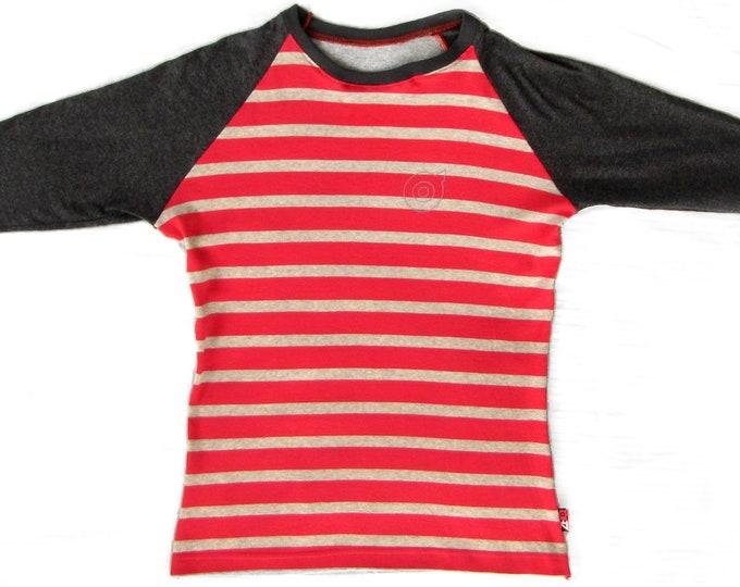 Pink/Athletic Striped Ladies Small Baseball Shirt 1/1 BG004