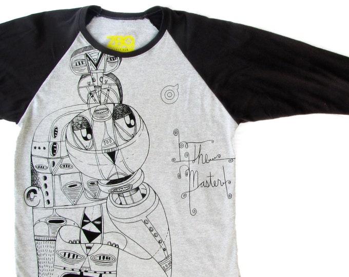 The Master Large Unisex Baseball Shirt 1/1 BH019