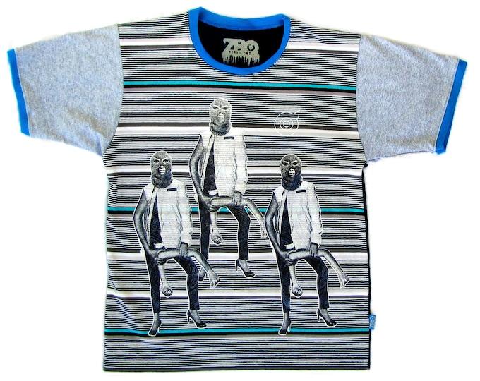 Armed Medium Unisex Ringer Shirt 1/1 BD085