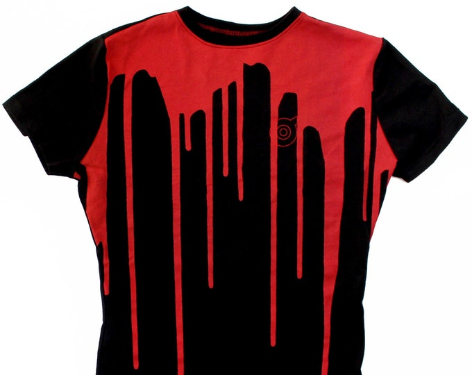 Dripp Ladies Red/Black T-Shirts