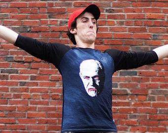 Avoid Freud Unisex Baseball Shirts
