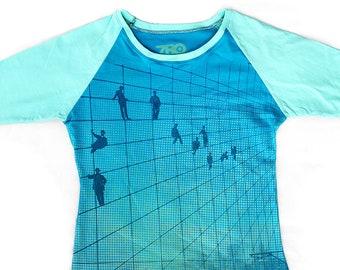 Oceanview Ladies XL Baseball Shirt 1/1 BH005