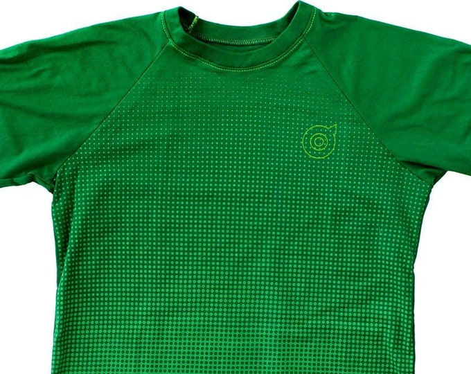 Transition Unisex Kelly Green Baseball Shirts