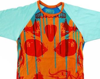 Head With  a View/Dripp Medium Unisex Baseball Shirt 1/1 BD067