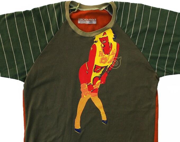 Hawaii 2084 Medium Unisex Baseball Shirt 1/1 AD016